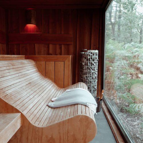 Luxe Privé Sauna midden in de Natuur