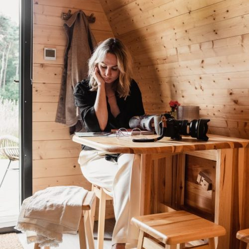 Retraite in een Tiny House in de Natuur